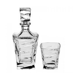 Set whisky 1+6 Zig zag   1 ks