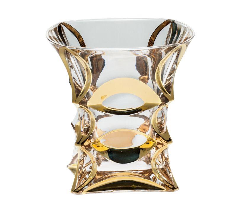 Sklenička whisky zl. X-lady gold 240 ml 6 ks - zaváděcí sleva 30%